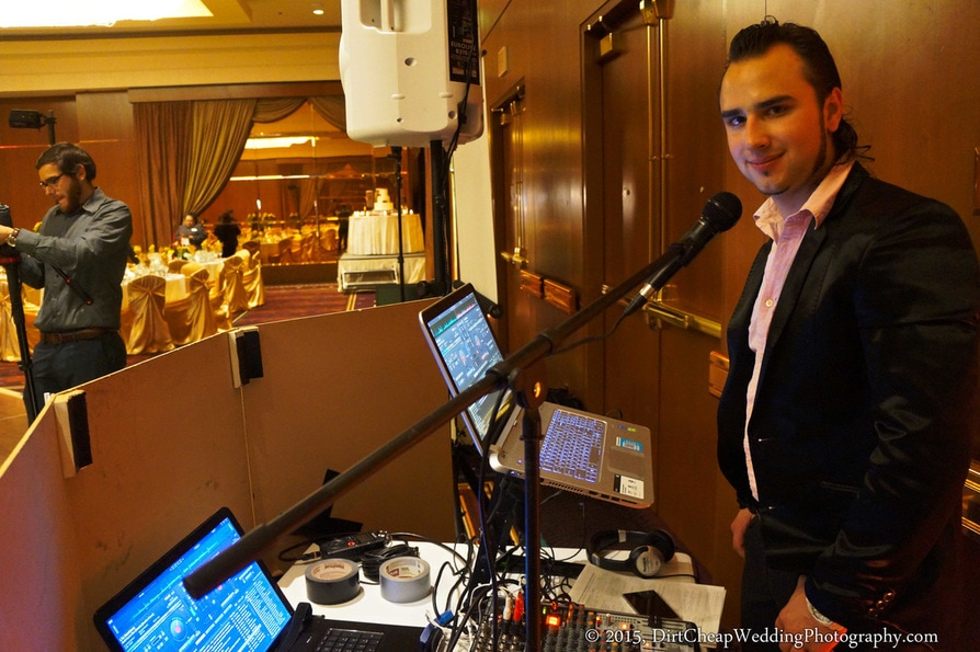 Orange County Wedding Videographer & DJ Combo Package, Affordable Wedding DJ Orange County, Cheap Wedding Videography